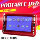 Portable Full 1080P HD DVD Player 9Inch DVD/CD Player With Game/FM/TV Turner Multi Media EVD Player For Sale