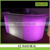 16 Colors Rechargeable LED Bar Furniture Set led dinning table