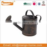 Antique Butterfly Embossing Decorative Watering Can