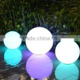 "disco good selling outdoor christmas lighted 10"" balls Hot sale! plastic magic led bowling ball plastic ball pit balls"
