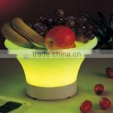 colorful plastic LED Fruit plate/tray/holder