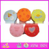 Hot sale high quality hand drum, Wooden Musical instruments hand drum, fashion style musical hand drum WJ278437