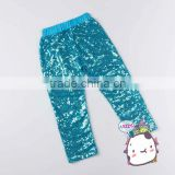 Europe&America Hot Design Children Sparkling Pants Baby Girls Icing Blue Sequin Pants Casual Underwear