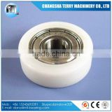 608zz Plastic covered ball bearing for sliding door