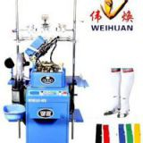 Computerzied Terry & Plain Football Socks Knitting Machine, Automatic Socks Making Machine