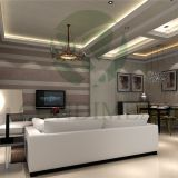 Varnished Gypsum board for wall covering without surface painting