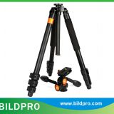 BILDPRO AK-324 Telescopy Tripod Stand Heavy Load Video Camera Tripod 1800mm Extend Tripod