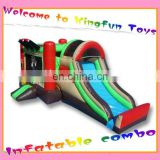 Pirate inflatable bounce house combi