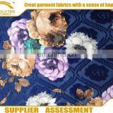 100% Polyester Warp printed Knit velvet upholstery fabric sells well in Middleast and Africa