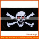 custom pirate skull flags