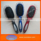 Plastic good quality hair brush for hair care