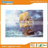2018 Promotional Printed Customer Tinplate Boat Fridge Magnet