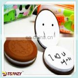 Fancy pvc cookie note book, promotion pvc memo pad ,Chocolatey pvc memo pad