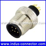 Bnc ip68 protection class 5 pin underwater male aviation moldable connector