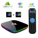 up to date Q Plus Android TV Box, 4GB RAM 32GB ROM STB  IPTV  TVBOX OTT