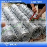 Hot Diped Galvanized Metal Animal Farm Fence Panel Animal Enclosure Fence Sheep Wire Mesh Fence