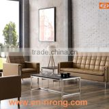 European style leather office sofa design