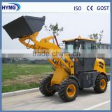 1.5t mini wheel loader with mini bulldozer