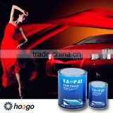 Yaopai 1K red colors metallic touch up coating refinish glitter car paint
