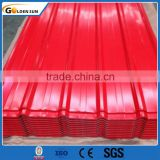 SGCC SGCH SGS sea blue/red/ color coated galvanized corrugated steel sheet for roof and wall