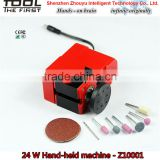 factory sales cheap Basic Mini Hand-held Machine for multiple DIY models hobby , grinder , driller