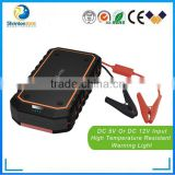2015 best selling ONBO car first aid kit 12000mAh 12v portable battery jump starter car emergency mini jump starter