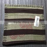 Stripe Yarn Dyed Design Linen Pillow Case Cushion Cover
