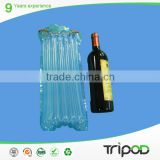 Plastic Air Cushion Bag For Wine Bottle, Inflatable Packing Bag