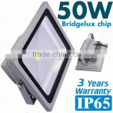 CE ROHS Certificate Bridgelux 45mil LED IP65 3 years ip65 outdoor 50w led flood light SZ