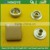15mm Square Shape Zinc alloy enamelled cap Press Studs Snap Button For Jackets -- MA5483