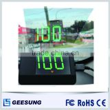 LED car multimedia hud head up display with gps module                                                                         Quality Choice