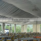 Pakistan style 25*60 big marquee tent with nice decoration used in different wedding party function exported in Pakistan