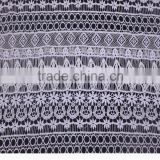 lastest emboidery lace fabric for apparel, wedding dress, hair accessorie