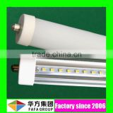 UL No. E472916 36W 40W 8ft 8 ft led lights japanese single pin t8 led tube with stock in USA warehouse
