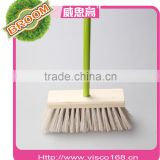 Good quality hot sale household power wooden and plastic made cleaning brush VA9-05