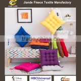 Special offer pure color hair cushions Office more warm students wholesale eat chair cushion pad manufacturers selling