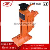 railway ratchet track jack QD5 QD10 QD15 railway rack and pinion jack