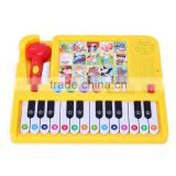 new style microphone baby piano keyboard toy book module