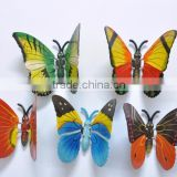 Wholesale 6 inch Plastic Butterfly 3D Design Personalized Fridge Magnets, Wedding Anniversary Gifts, Studio decorations