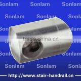 stainless steel balustrade connection handrail connector crossbar holder