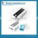 5600mAh portable Power Bank G01 Universal External Battery pack and charger USB port best for travelling