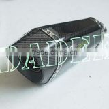 Motorcycle Racing Parts Oblique Hexagonal Carbon Fiber Exhaust Slip-on System for Suzuki GSXR 1300 2008