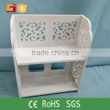 2015 NEW design decorative kitchen wooden spice rack