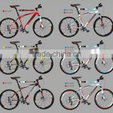 2015 new arrival good painted new model bicycle on sale 27S aluminum alloy 6061 mountain bike