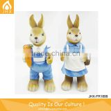 China Factory Colorful OEM Resin Easter Bunny Family Soft Toys
