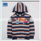 1-5Y (A2080) Nova winter baby clothing two colors stock cotton fleece boys winter hoodies coats