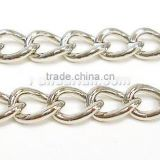 Silver Iron Chain, Fashion Jewelry Chain, 5mm(CH007-S)