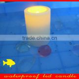battery operated pillar flameless outdoor use waterproof led votive candles