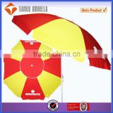 280g PVC fabric patio umbrella, cola promotional patio umbrella,patio umbrella promotional