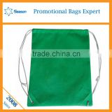 Wholesale hemp bag drawstring/shoulders a rope clothing receive bag printed logo